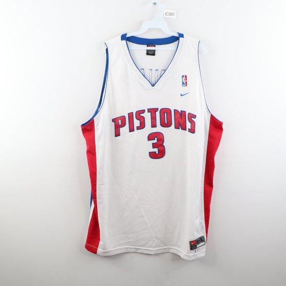 Vintage Nike Detroit Pistons Ben Wallace Jersey